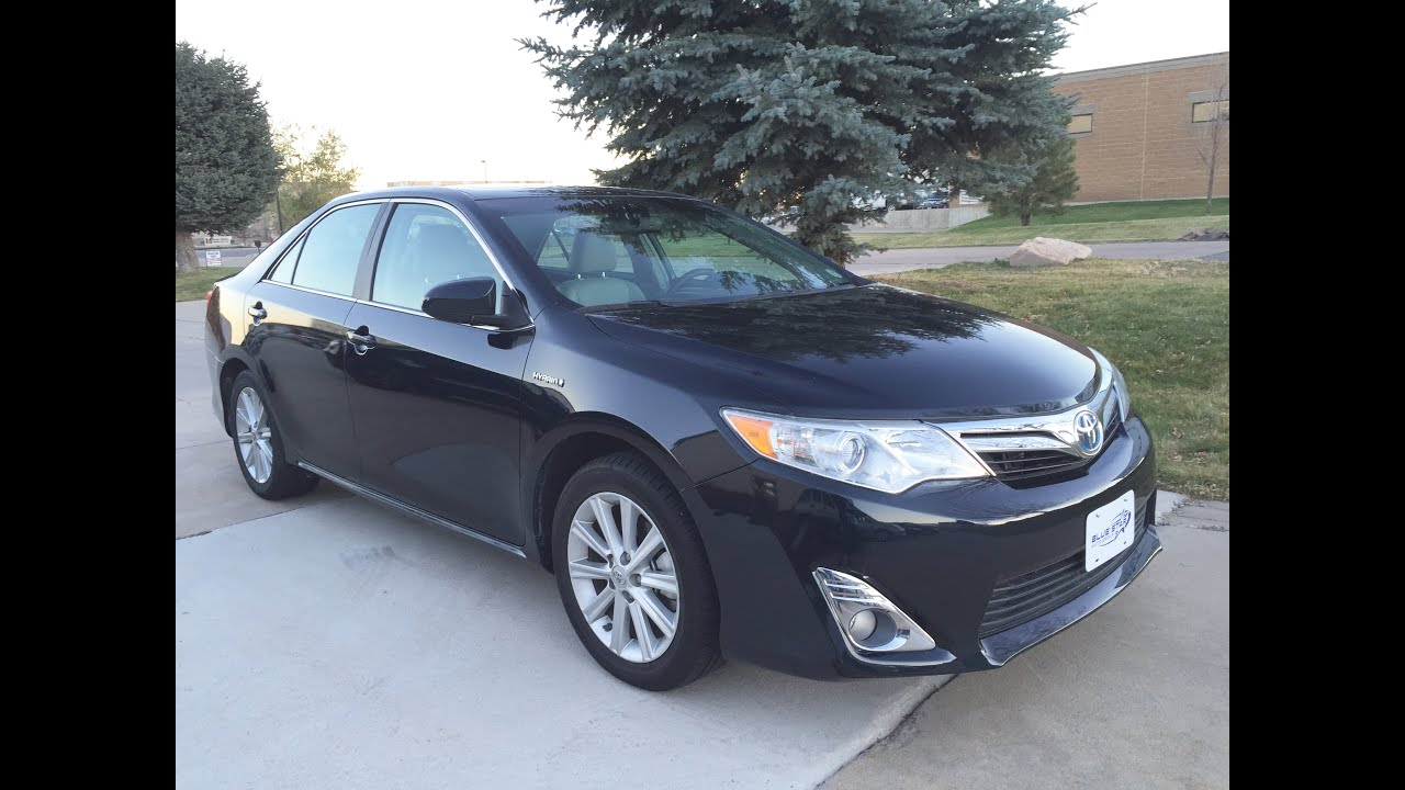 2012 toyota camry hybrid hybrid xle leather moonroof for sale longmont co youtube. Black Bedroom Furniture Sets. Home Design Ideas