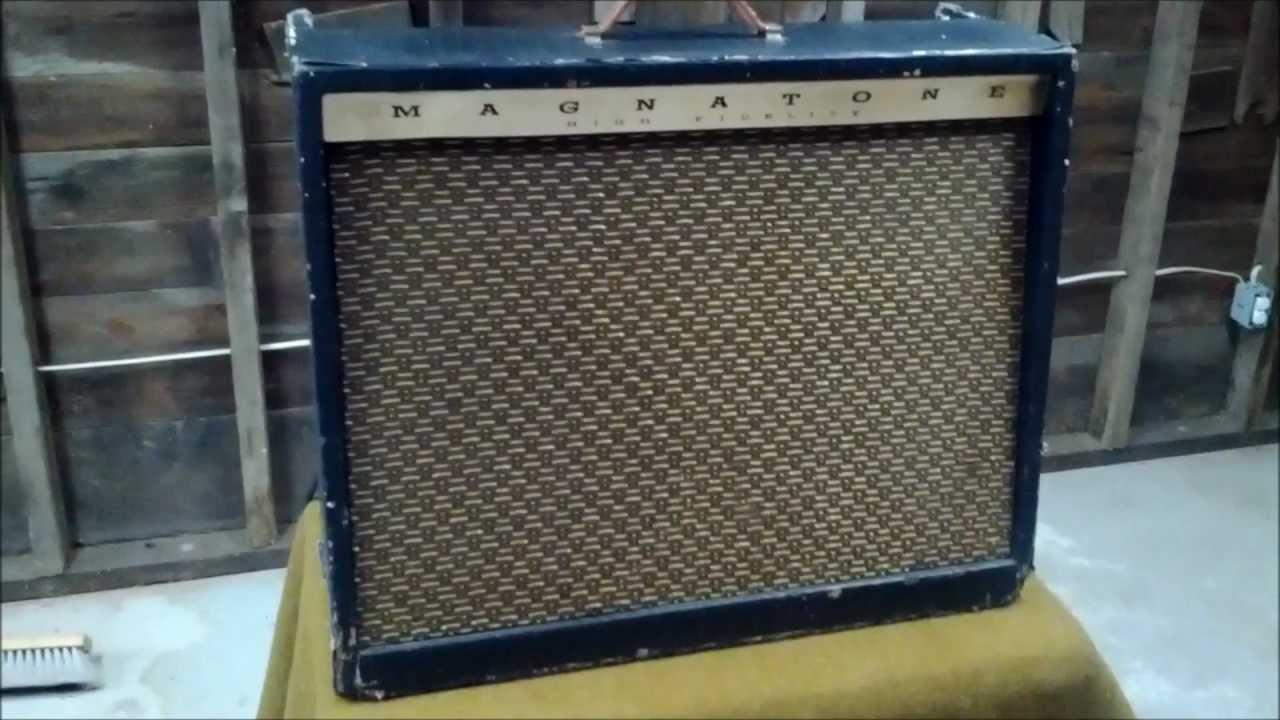 Vintage Magnatone Amplifier Schematic Electrical Wiring Diagrams 1962 262 Demo Guitar