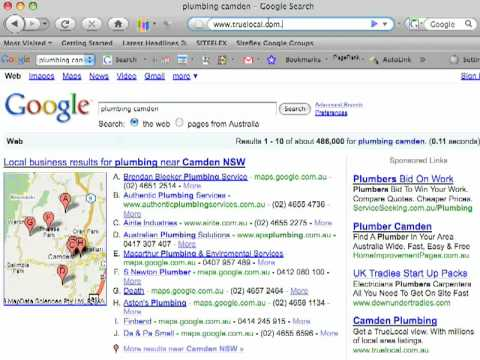 How to get listed in Google Local Business Results