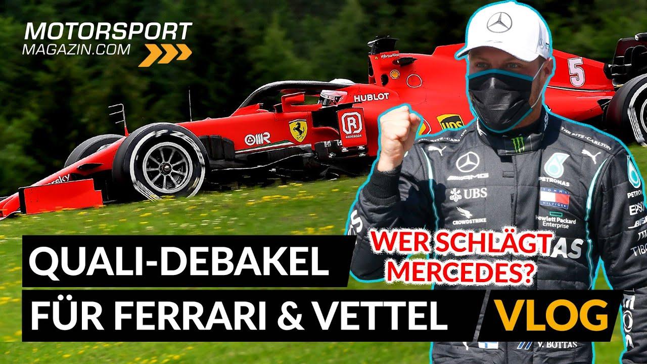 Qualifying-Debakel für Vettel & Ferrari! Was steckt dahinter?