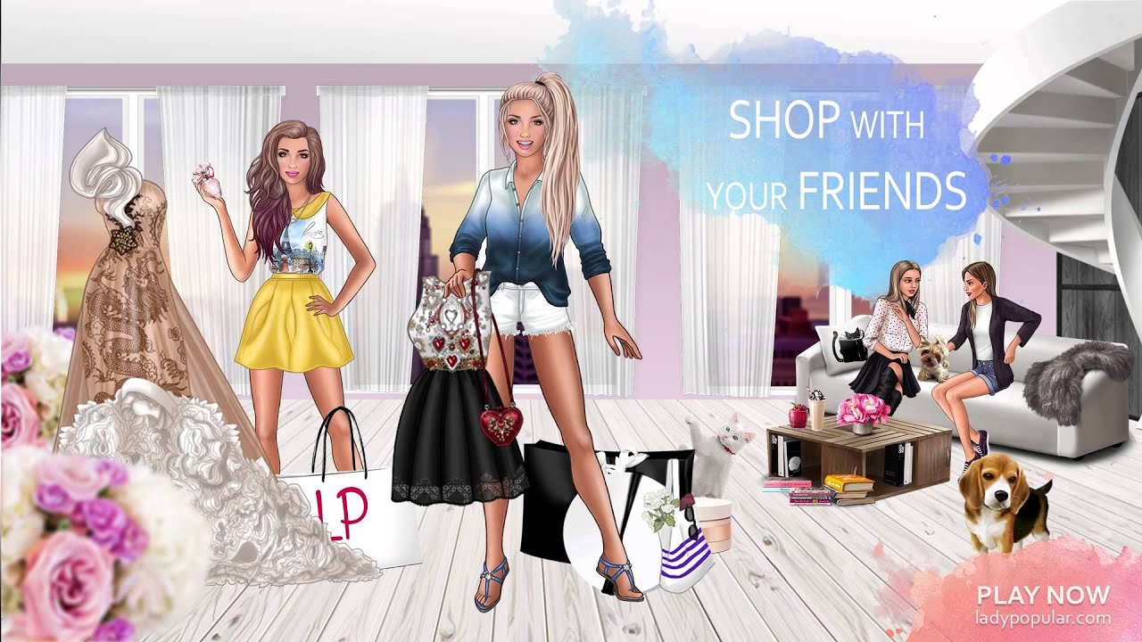Lady Popular The Best Online Fashion Dress Up Game