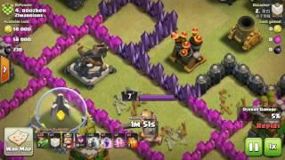 Clash of Clans I LV6 VS LV5 LIGHTNING SPELL I TH9 I WAR ATTACK