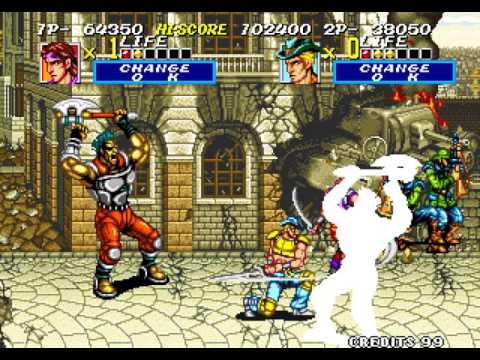 Sengoku 2 arcade 2 player Netplay 60fps