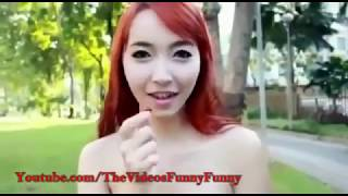 Video Cewek Cantik Ngerjain Para Cowok Dijamin Lucu dan Bikin Ketawa - Try Not To Laugh