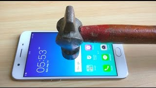 Oppo F1s Screen Scratch Test Gorilla Glass 4