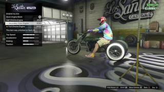 Gta 5 New Three Wheeled Bike Gameplay