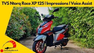 TVS Ntorq Race XP 125 | Impressions | Voice Assist