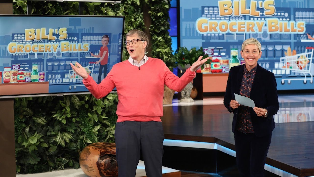 Billionaire Bill Gates Guesses Grocery Store Prices - YouTube