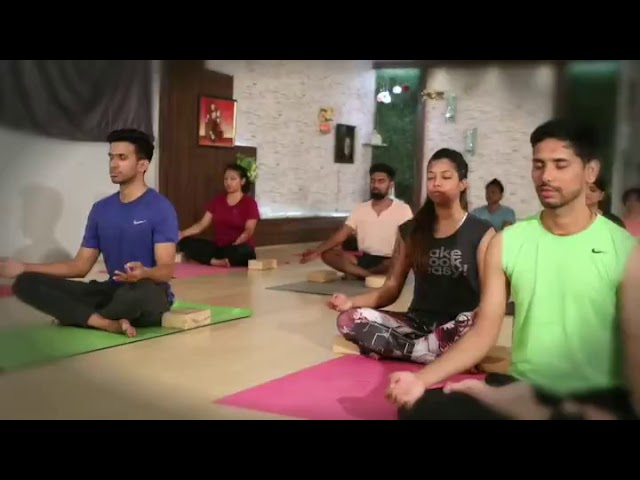 Yoga Teacher training at KRISHNAYOGASHALA