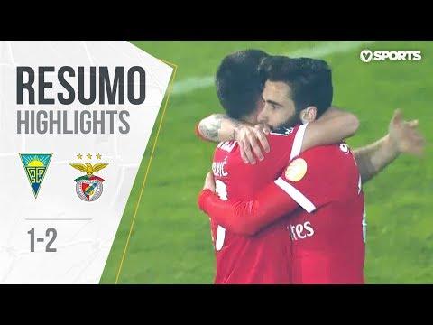 Highlights | Resumo: Estoril 1-2 Benfica (Liga 17/18 #31)