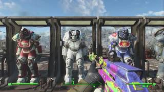 Fallout 4 - Power Armor Collection!! (lvl 118)