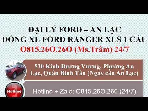 Đại Lý Xe Ford Ranger XLS 1 Cầu 2019 Tại Vũng Tàu - O815.26O.26O