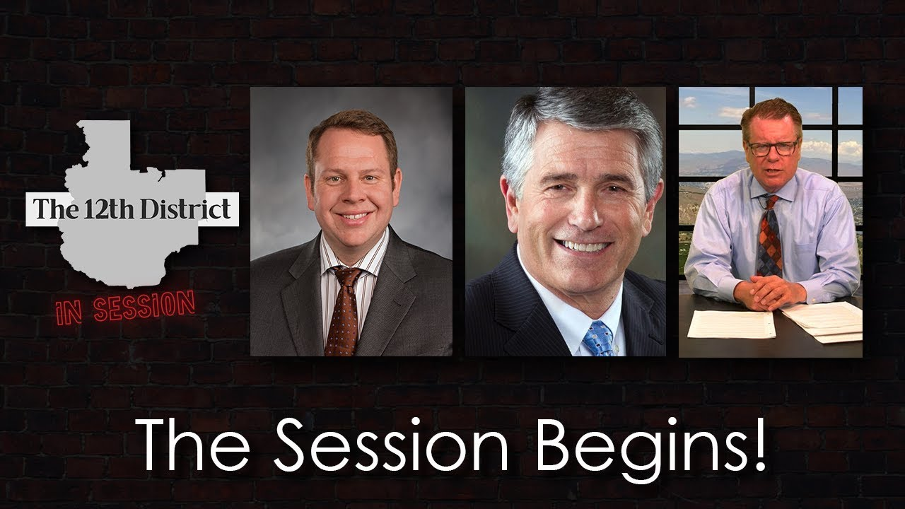 The 12th District - The Session Begins - January 22, 2019