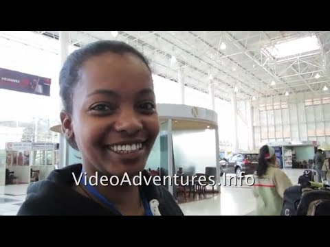 Arrival At Bole International Airport, Addis Ababa --A Hotel Agent