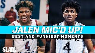 Jalen Green's Mic'd Up Highlights‼️ The Best and Funniest Moments 🔥🎤