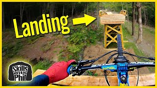 Hitting the Biggest Jumps That any Bike Park has Ever Built // Fort Hill Thunder Mountain