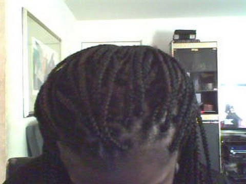 ... to do Poetic justice/solange Box braids (rubber band method) - YouTube