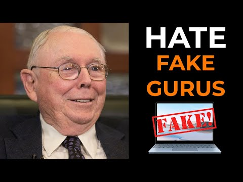 Charlie Munger: Why I HATE Fake Gurus? (Full Speech)