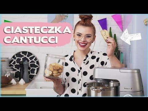 Pyszne CANTUCCI prosto z Toskanii   Sugarlady x Kenwood Chef XL Elite