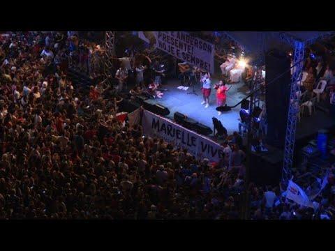 Miles en Rio piden respuestas sobre asesinato de concejal