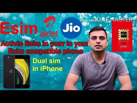 Esim | Activate Airtel Esim In Your Esim Compatible Phone | Daul Sim In IPhone | ASHA AWARENESS