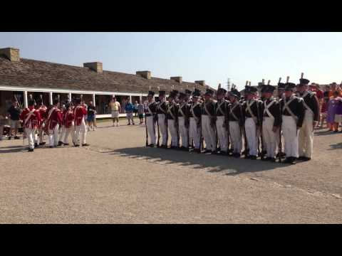 Morning Parade at Historic Fort Snelling