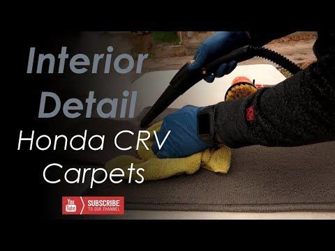 Interior Detail Carpet Cleaning -- Honda CRV