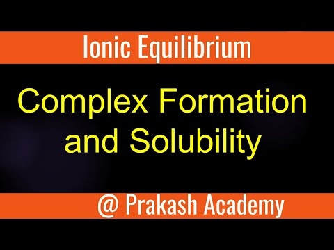 Ionic Equilibrium # Complex Formation and Solubility # Sample Problem