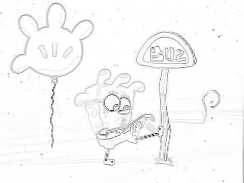 Spongebob Rock Bottom Sketched