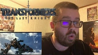Transformers: The Last Knight - Teaser Trailer Reaction!