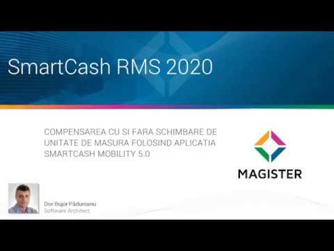 Compensarea cu si fara schimbare de unitate de masura cu SmartCash Mobility