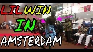 KWADWO NKANSAH (LIL WIN) LIVE IN AMSTERDAM 2016!!!   Special Vlog #1