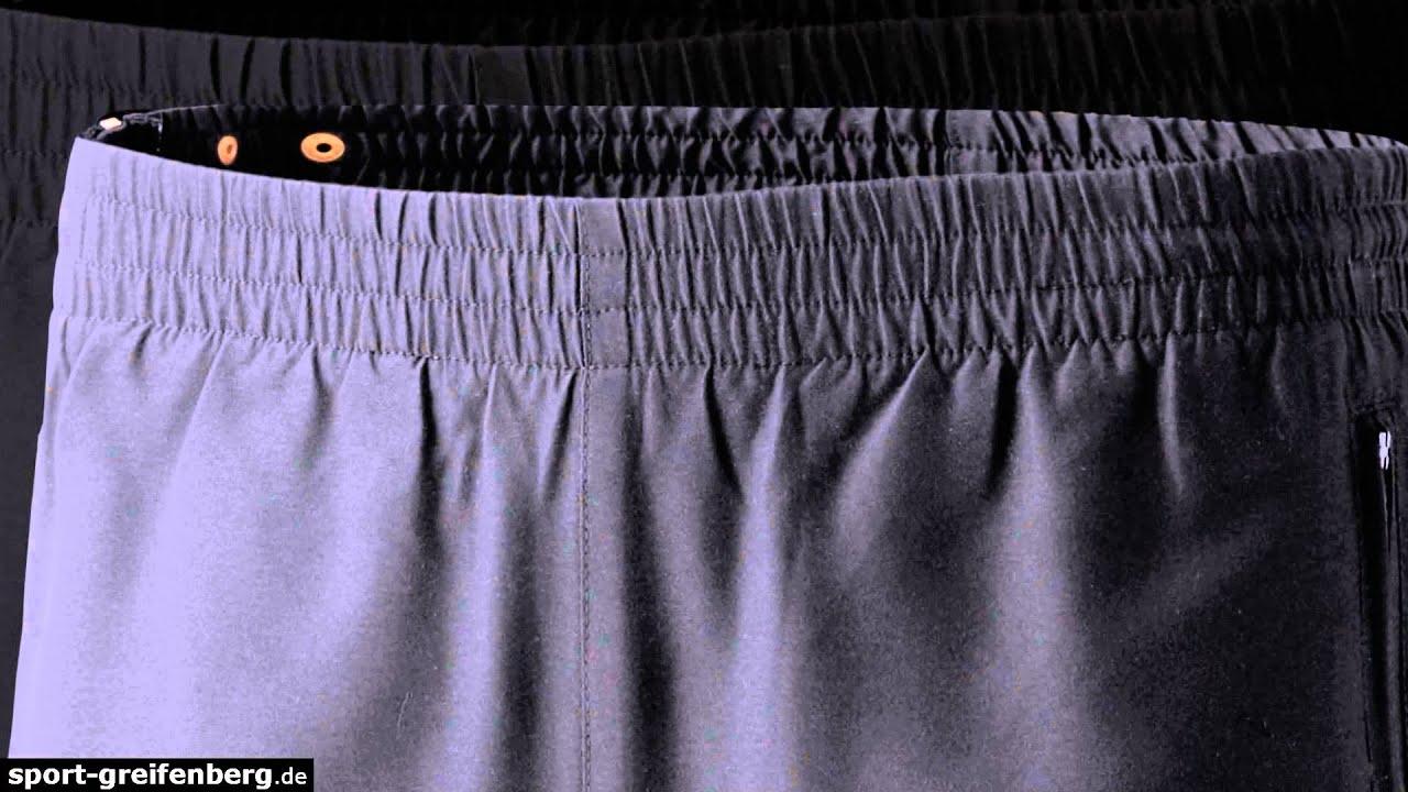 erima sporthose mit durchgehendem rei verschluss youtube. Black Bedroom Furniture Sets. Home Design Ideas