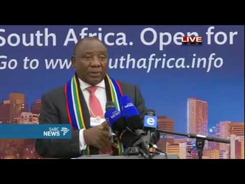 Day 1: Team SA addresses the WEF summit Part 1