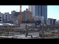 西武鉄道池袋旧本社ビル建替え計画の建設状況(2017年2月4日)