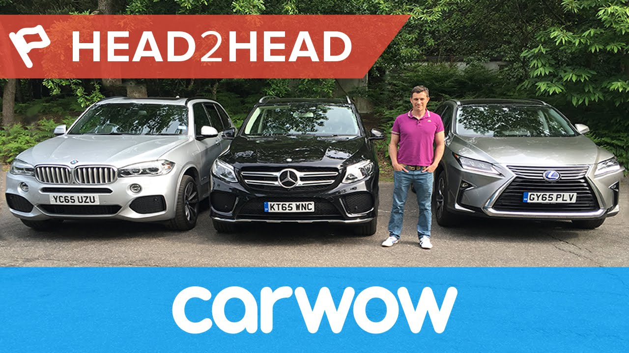 BMW X5 vs Mercedes GLE vs Lexus RX review | Head2Head - YouTube