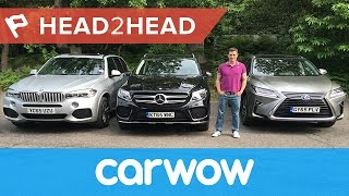 BMW X5 vs Mercedes GLE vs Lexus RX review | Head2Head