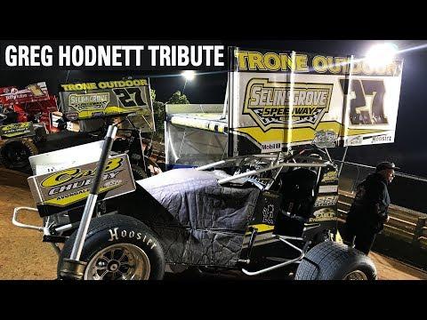 Greg Hodnett Tribute At The National Open