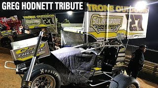 Greg Hodnett Tribute At The National Open