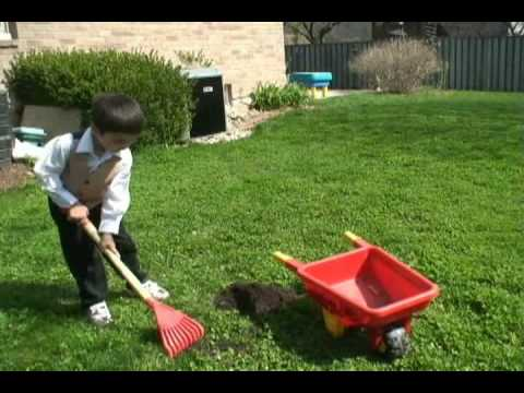 top dressing the lawn youtube. Black Bedroom Furniture Sets. Home Design Ideas