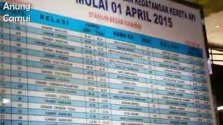 jadwal keberangkatan dan kedatangan kereta api stasiun gambir mulai 1 april 2015