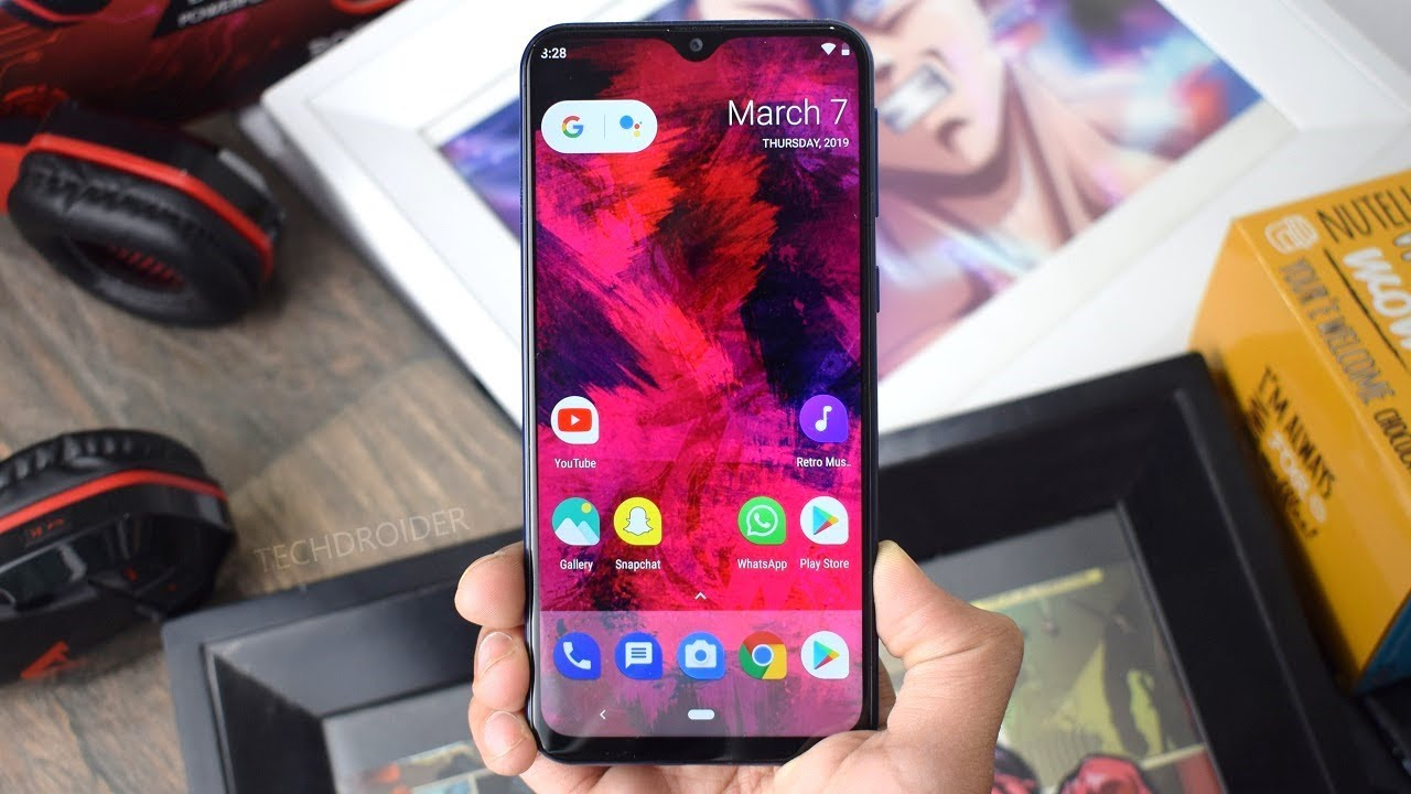 Samsung Galaxy M20 Stock Android 9 0 Pie Review Youtube