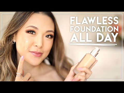 HOW TO MAKE FOUNDATION LAST ALL DAY (Oil & Rub-Proof, Natural Look)