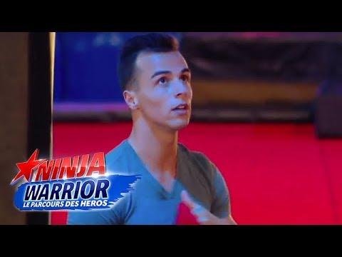 Le parcours de finale Ninja Warrior de Jeremy et Aurélien