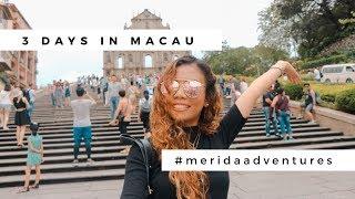 Gambar cover MACAU THREE DAYS TOUR   Merida Adventures