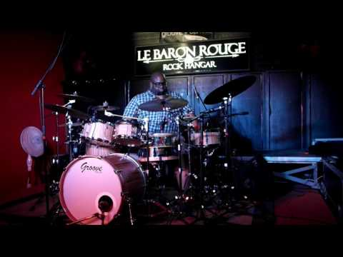 Dre Energy Playing Groove Drum Co. Drums - Lisbon Clinic