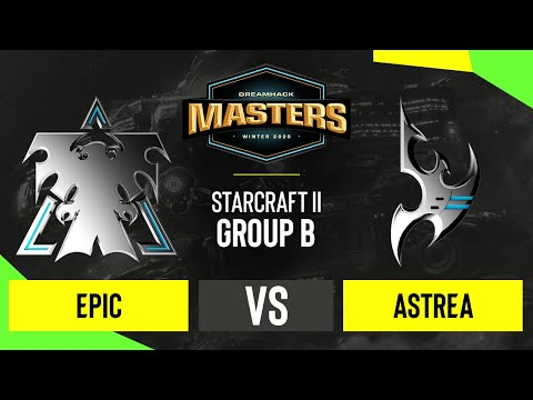 VOD: Astrea vs Epic - DH SC2 Masters 2020 - Map 2