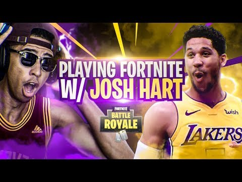 PLAYING FORTNITE WITH NBA SL MVP JOSH HART! Fortnite Battle Royale