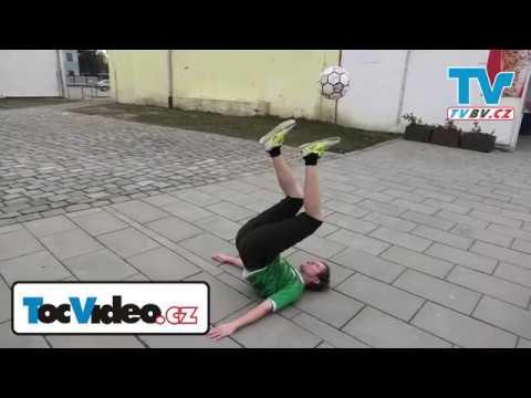 Kontrola míče - freestyle fotbal - Břeclav
