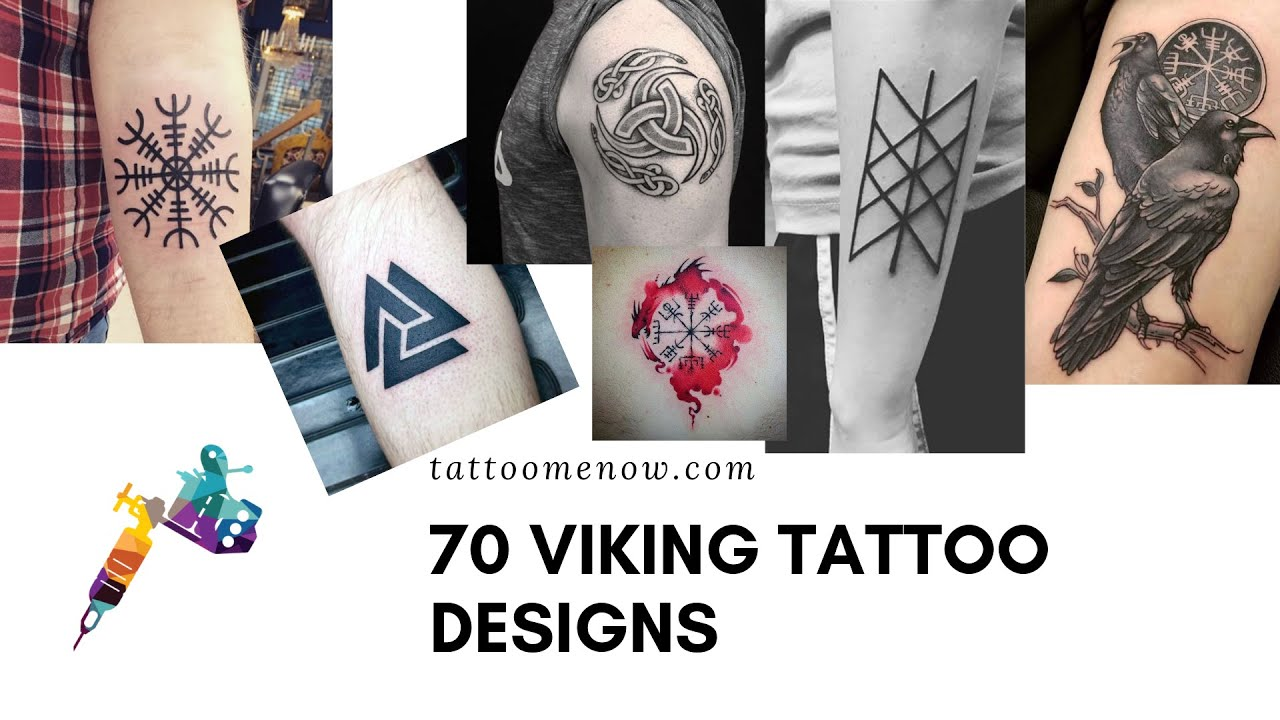 Viking Armband Tattoo Designs: 70 Viking Tattoo Designs